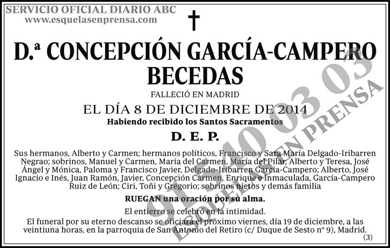 Concepción García-Campero Becedas